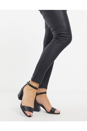 Kenneth Cole Hannon heeled sandals in leather