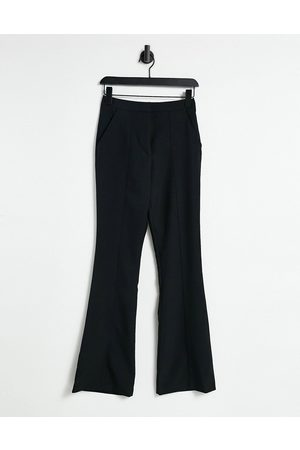 ASOS Slim kick flare pants with seams in