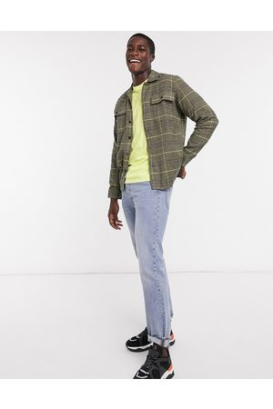 Levi's Long sleeve skate workshirt in sphene / harvest gold