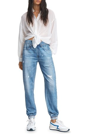 RAG&BONE Miramar Cotton Distressed Jogger Jeans