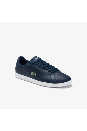 Lacoste Men's Graduate Leather and Synthetic Sneakers - 11.5