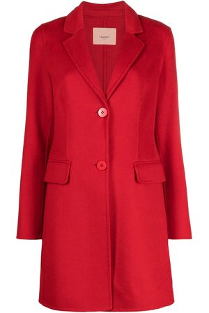 Twin-Set Single-breasted mid-length coat