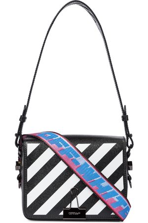 OFF-WHITE Diag Small leather shoulder bag