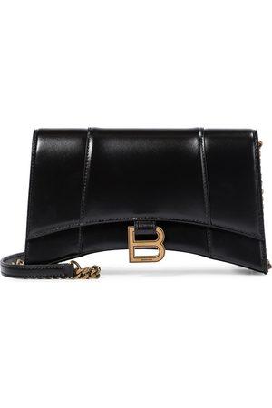 Balenciaga Hourglass leather shoulder bag