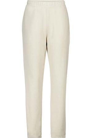 Les Tien Cotton-fleece trackpants