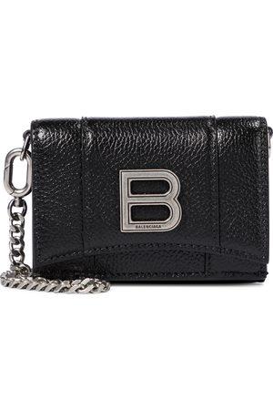 Balenciaga Hourglass Mini leather wallet