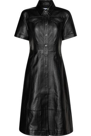 Proenza Schouler White Label leather midi dress