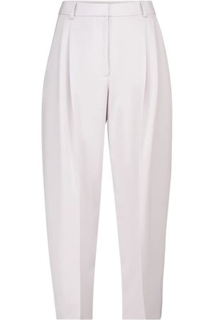 Stella McCartney Dawson high-rise tapered wool pants