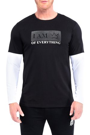 Maceoo Men's Everything Layered Long Sleeve Graphic Tee