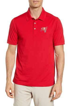 Cutter & Buck Men's Tampa Bay Buccaneers - Advantage Regular Fit Drytec Polo