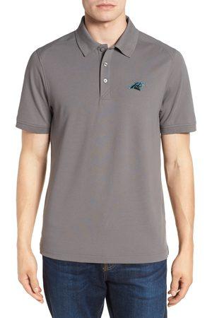 Cutter & Buck Men's Carolina Panthers - Advantage Regular Fit Drytec Polo