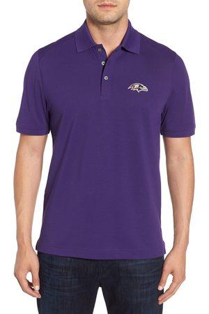 Cutter & Buck Men's Baltimore Ravens - Advantage Regular Fit Drytec Polo