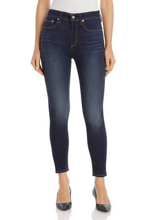 RAG&BONE Nina High-Rise Ankle Skinny Jeans in Carmen