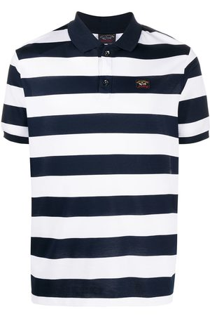 Paul & Shark Striped short sleeve polo shirt