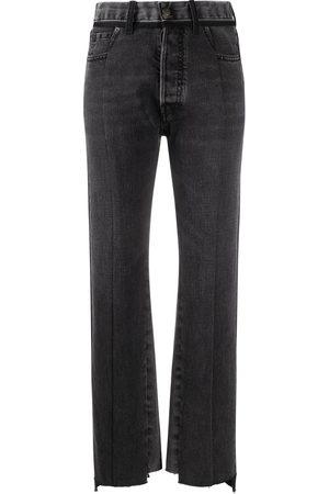 Maison Margiela Contrast panel jeans - Grey