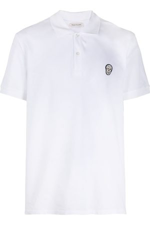Alexander McQueen Appliqued polo shirt