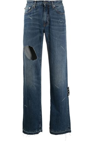 OFF-WHITE Cut-out detail jeans