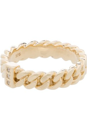 TOM WOOD Diamond-accents chain ring
