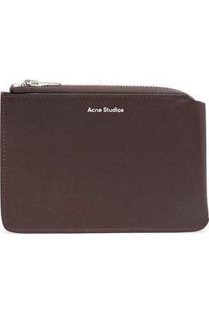 Acne Studios Wallets - Top zip leather wallet