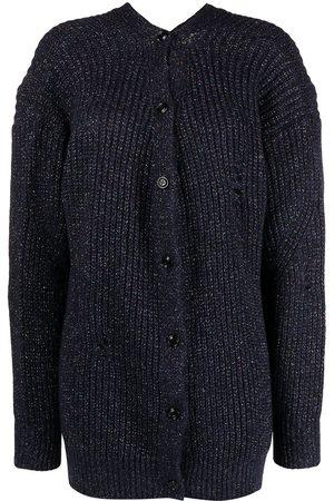 Diesel Distressed knitted cardigan