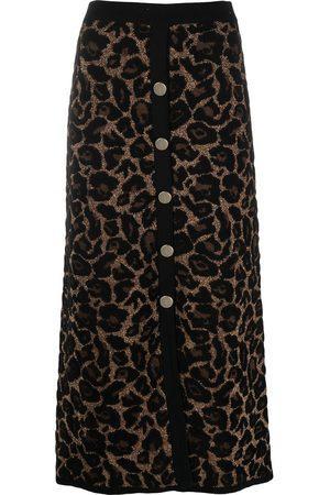 TEMPERLEY LONDON Joanie knitted skirt