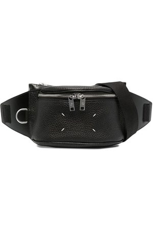 Maison Margiela Number-print four-stitch belt bag