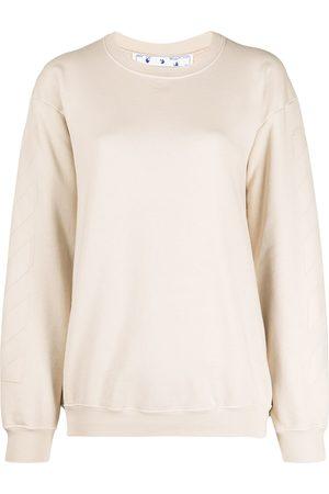OFF-WHITE Arrows motif sweatshirt - Neutrals