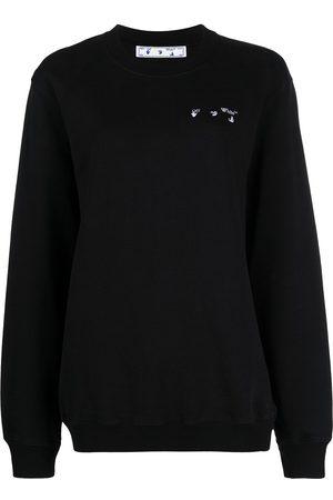 OFF-WHITE Logo-embroidered sweatshirt