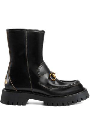Gucci Horsebit-embellished ankle boots
