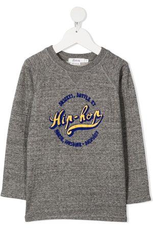 BONPOINT Hip-hop print T-shirt - Grey