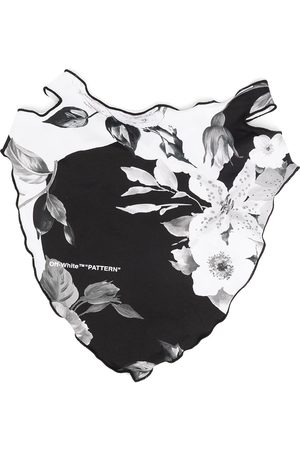 OFF-WHITE FLOWERS BANDANA MASK NO COLOR