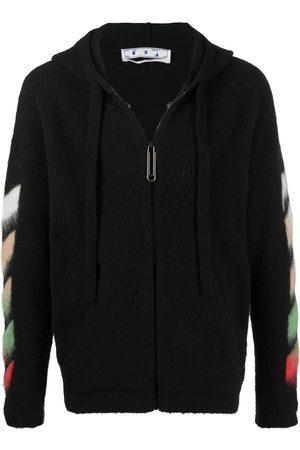 OFF-WHITE Men Hoodies - Diag arrow logo hoodie