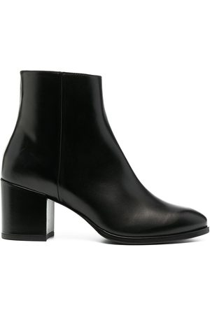 Scarosso Polished-finish ankle boot