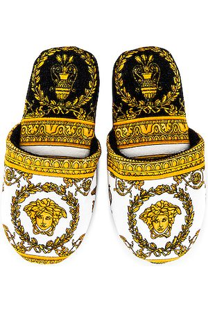 VERSACE I Heart Baroque Slippers in ,Abstract