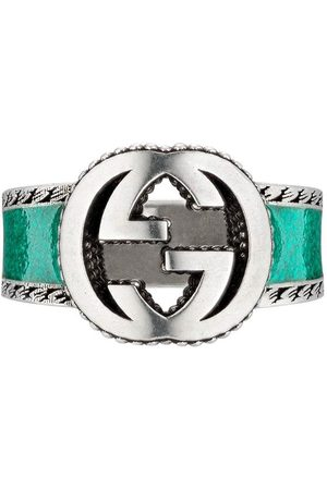 Gucci Interlocking G band ring