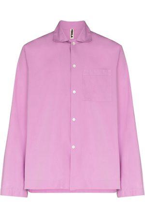 Tekla Long-sleeve pyjama shirt