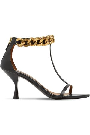 Stella McCartney 75mm Falabella Faux Leather Sandals