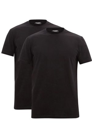 Dsquared2 Pack Of Two Cotton-blend Jersey T-shirts - Mens