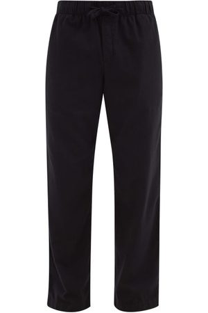 Tekla Drawstring Organic-cotton Flannel Pyjama Trousers - Mens