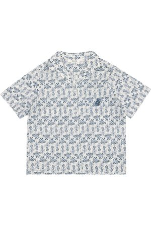 BONPOINT Steve printed cotton shirt