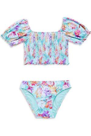 LITTLE PEIXOTO Little Girl's & Girl's Harper Two-Piece Swimsuit
