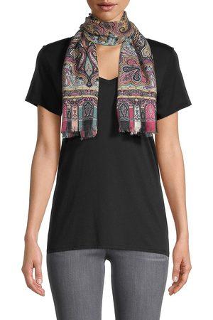 Etro Women's Calcutta Paisley Swirl Cashmere & Silk Scarf