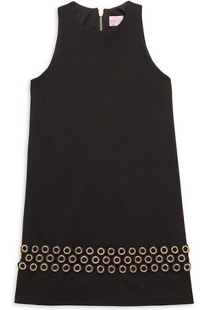 Zoe Girl's Knit Grommet Dress - - Size 8