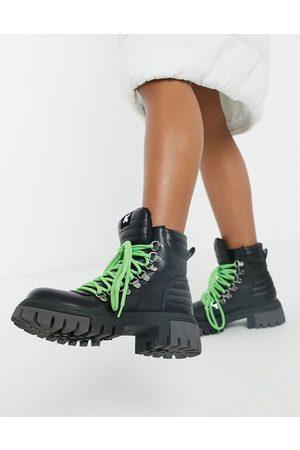 Koi Footwear Ephemeris vegan chunky boots in