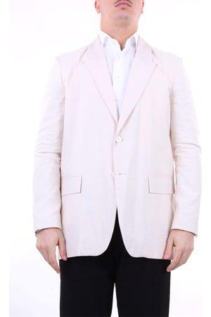 CHOICE Blazer Men Ivory viscose and polyester