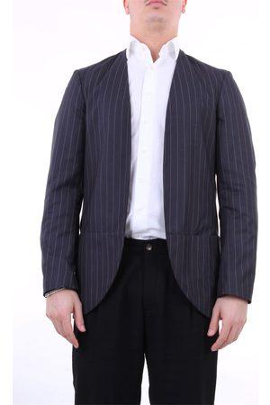 CHOICE Blazer Men pinstripe polyester elastane