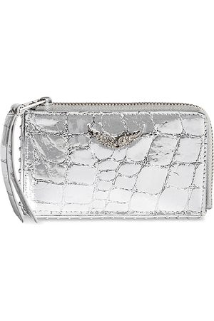 Zadig & Voltaire Leather Card Holder Pouch