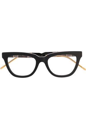 Gucci Interlocking GG rectangular-frame glasses