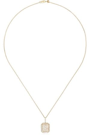 Mateo 14kt S initial necklace