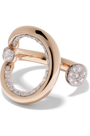 Pomellato 18kt rose gold Fantina diamond ring
